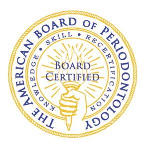 Logo for Board Certified Periodontist at your Fort Lauderdale dentist